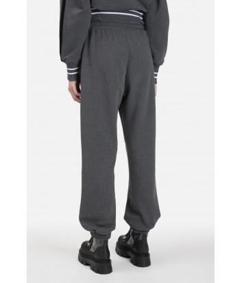 Серые брюки ICEBERG B0416300 с пайетками