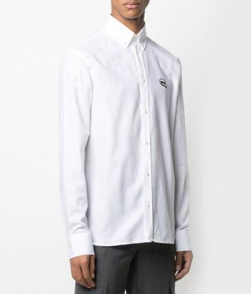 Рубашка KARL LAGERFELD Ikonik 210M1601 белая