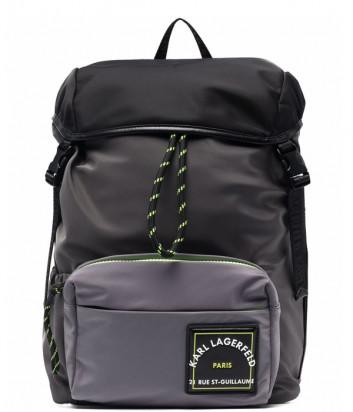 Рюкзак KARL LAGERFELD 215M3046 с внешним карманом и логотипом