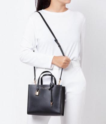 Кожаная сумка MARC JACOBS Grind Tote Mini M0015685 черная