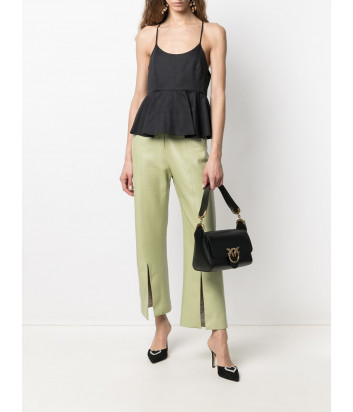 Кожаная сумка на плечо PINKO Shoulder Love Bag Simply 1P221W черная
