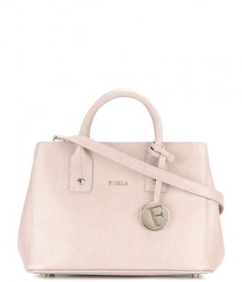 Кожаная сумка FURLA Linda 835110 нежно-розовая