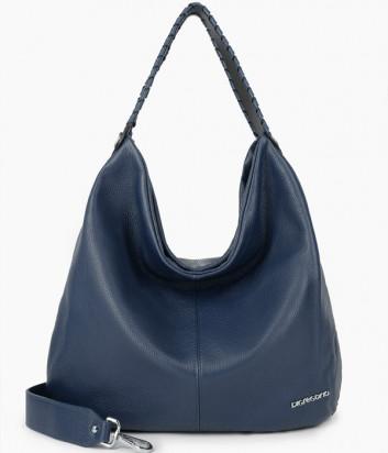 Кожаная сумка DI GREGORIO 8787 синяя