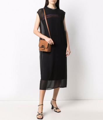 Двойное платье KARL LAGERFELD 215W1350 черное