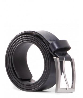 Мужской кожаный ремень KARL LAGERFELD 815300 512498 черный