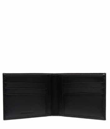 Складной кожаный кошелек KARL LAGERFELD 815413 512462 черный