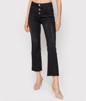 Расклешенные джинсы LIU JO UF1040D4614 черные