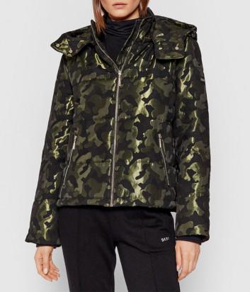 Куртка LIU JO Sport TF1035T4963 с камуфляжным зеленым принтом