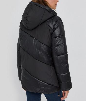 Утепленная куртка LIU JO Sport TF1094T4961 с капюшоном черная