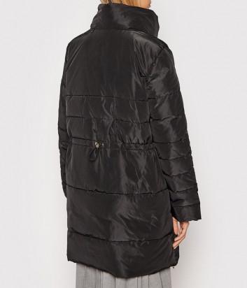 Утепленная куртка LIU JO TF1021T4955 с объемным воротником черная