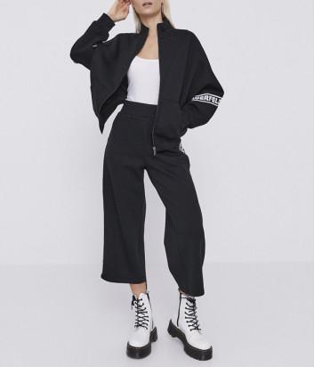 Трикотажный костюм KARL LAGERFELD 211W1802/1062 толстовка и брюки черный