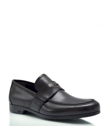 Классические туфли FABI 7075 в полированной коже черные