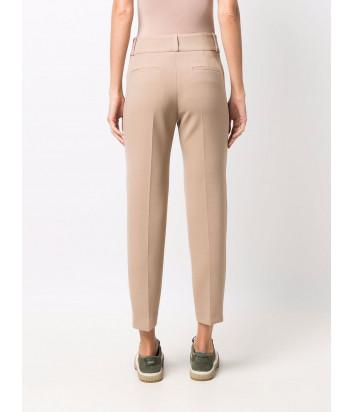 Классические брюки PESERICO P0467501934 бежевые