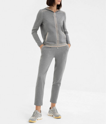 Трикотажный костюм D.EXTERIOR 53631-53632 серый