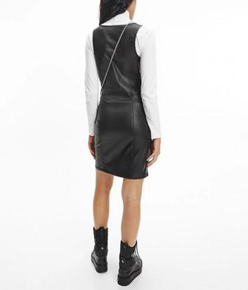 Мини-платье CALVIN KLEIN Jeans J20J217102 облегающего кроя черное