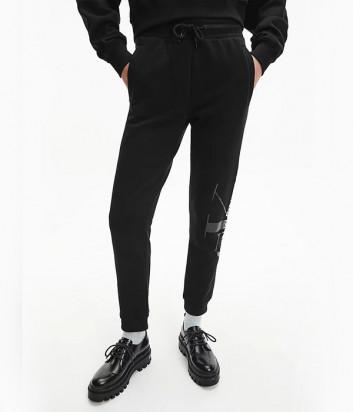Спортивные брюки CALVIN KLEIN Jeans J20J216582 черные с логотипом