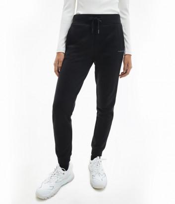 Спортивные брюки CALVIN KLEIN Jeans J20J215458 с логотипом черные