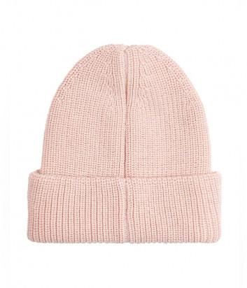 Вязаная шапка CALVIN KLEIN Jeans K60K607383 розовая