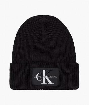 Вязаная шапка CALVIN KLEIN Jeans K50K506242 черная