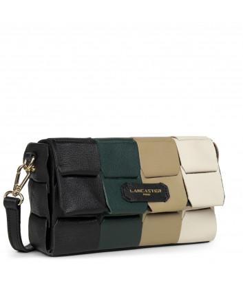 Кожаная сумка-клатч LANCASTER Studio Enlace 422-32 комбинированная