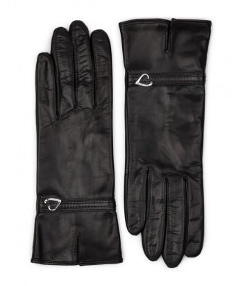 Кожаные сенсорные перчатки LANCASTER 630-04 черные
