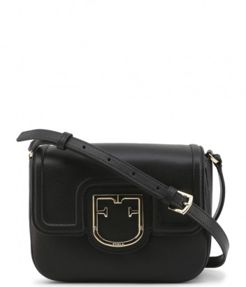 Кожаная сумка через плечо FURLA Joy XS черная