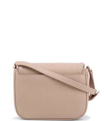 Кожаная сумка через плечо FURLA Joy XS пудровая