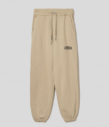 Спортивные брюки COMME DES FUCKDOWN CDFD1530 бежевые