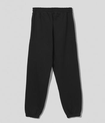 Спортивные брюки COMME DES FUCKDOWN CDFU1234 черные с логотипом
