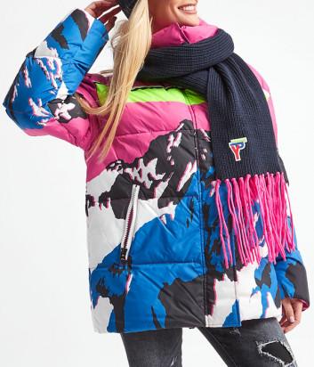 Объемный шарф ICE PLAY W2M130019008 синий
