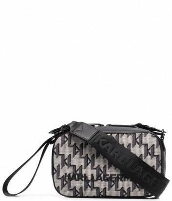 Жаккардовая сумка KARL LAGERFELD K/Monogram 216W3041 с узором