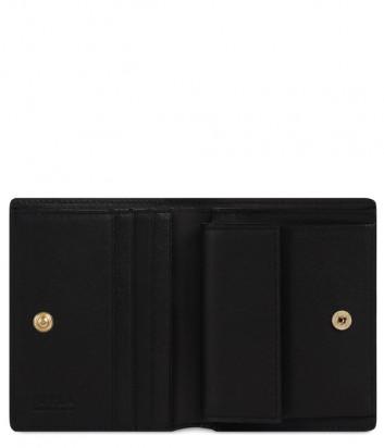 Компактный кошелек на кнопке FURLA 1927 S PDF7ACO в два сложения черный
