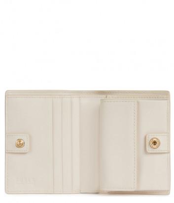 Компактный кошелек на кнопке FURLA 1927 S PDF7ACO в два сложения кремовый
