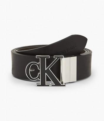 Кожаный ремень CALVIN KLEIN Jeans K50K507243 черный