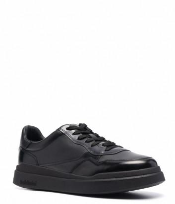Кожаные кроссовки BALDININI U2B801ABNA черные
