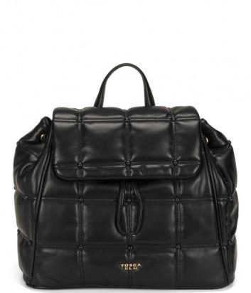 Рюкзак TOSCA BLU Bella Addormentata TF2137B11 стеганный черный