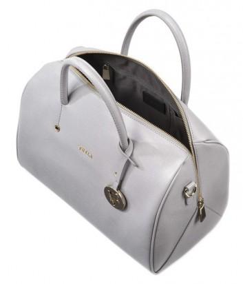 Сумка Furla Alissa 754213 из жесткой кожи saffiano белая - купить в ... edf78697624