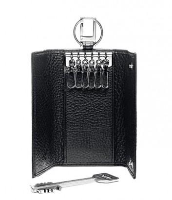 Кожаная ключница Piquadro Modus PC1397MO_N на 6 ключей черная