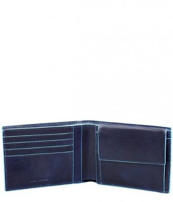 Портмоне Piquadro Blue Square PU257B2 с отделением для монет синее