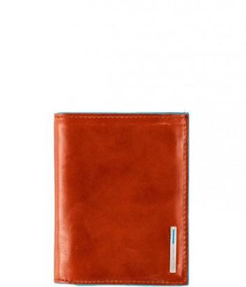 Удобное портмоне Bl Square PU1740B2_AR с отделением для монет рыжее