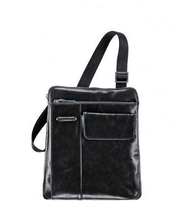 Сумка Piquadro Blue Square CA1815B2_N с фронтальным карманом черная