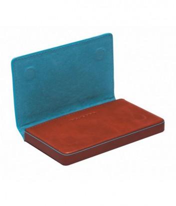 Кожаная визитница Piquadro Blue Square PP1263B2_AR рыжая