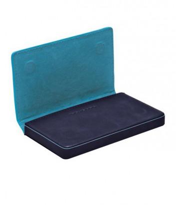 Кожаная визитница Piquadro Blue Square PP1263B2_BLU2 темно-синяя
