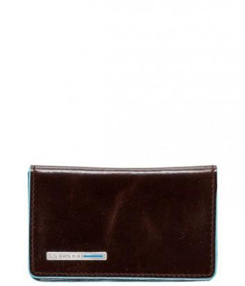 Кожаная визитница Piquadro Blue Square PP1263B2_MO коричневая