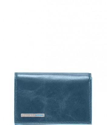Кожаная визитница Piquadro Blue Square PP1899B2_AV2 лазурная