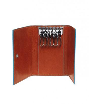 Компактная ключница Piquadro Bl Square PC1396B2_N на 6 ключей черная