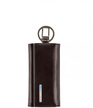 Ключница Piquadro Blue Square PC1397B2_MO на 6 ключей коричневая