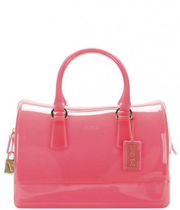 a34b56dec7e9 Силиконовая сумка Furla Candy 745914 коралловая - купить в Киеве и ...