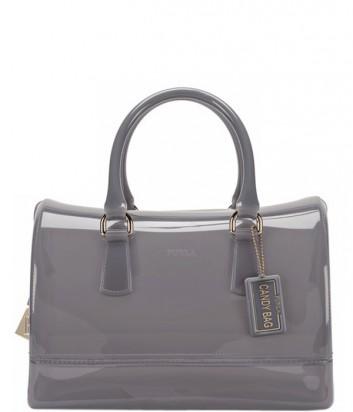 dd6f80b66258 Силиконовая сумка Furla Candy 754142 серого цвета - купить в Киеве и ...