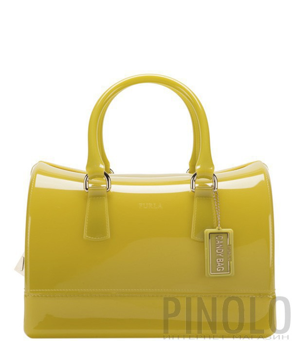 223a6d0b5aff Силиконовая сумка Furla Candy 750483 цвет лайма - купить в Киеве и ...
